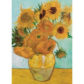 Puzzel Zonnebloemen (Van Gogh)