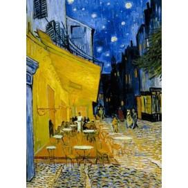 Puzzel Caféterras bij nacht (Van Gogh)