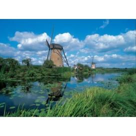 Puzzel De molens van Kinderdijk